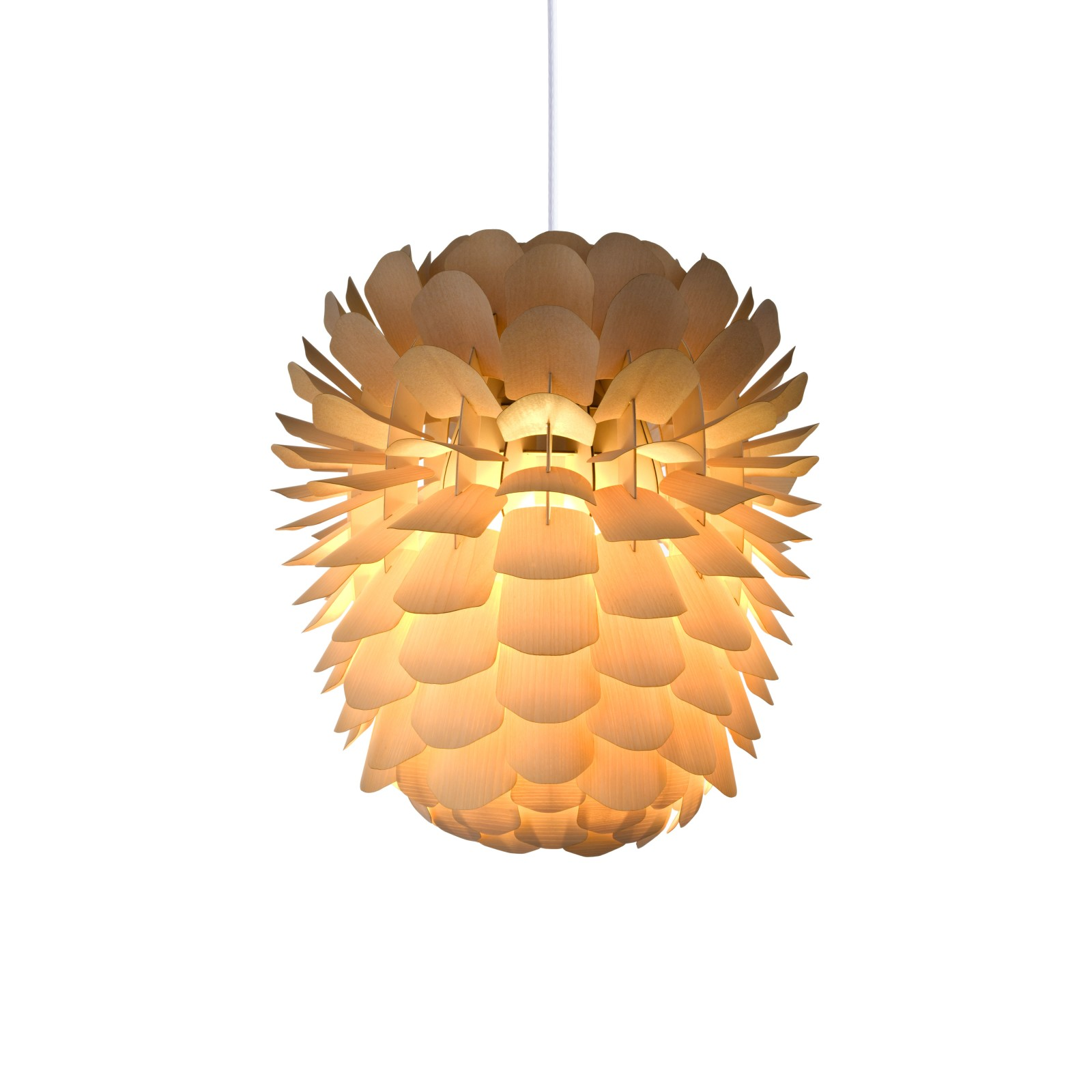 Zappy 'Small' Pendant light Ash