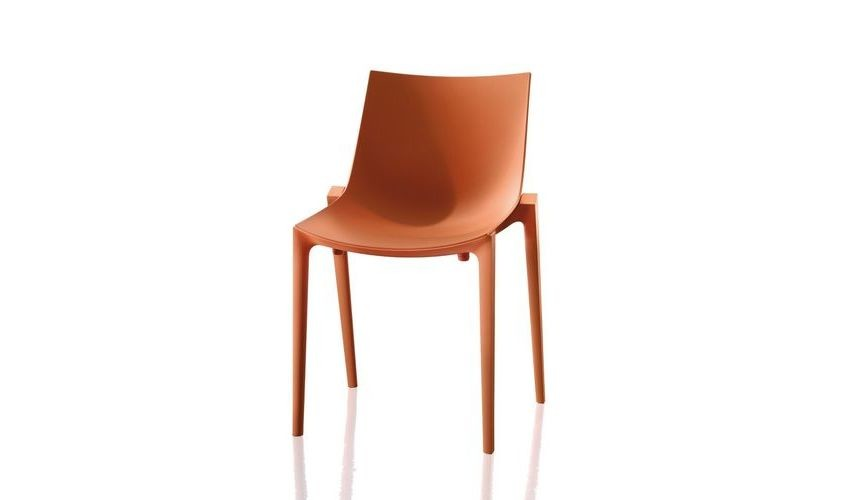 Zartan Chair - Set of 6 Basic, Matt Orange