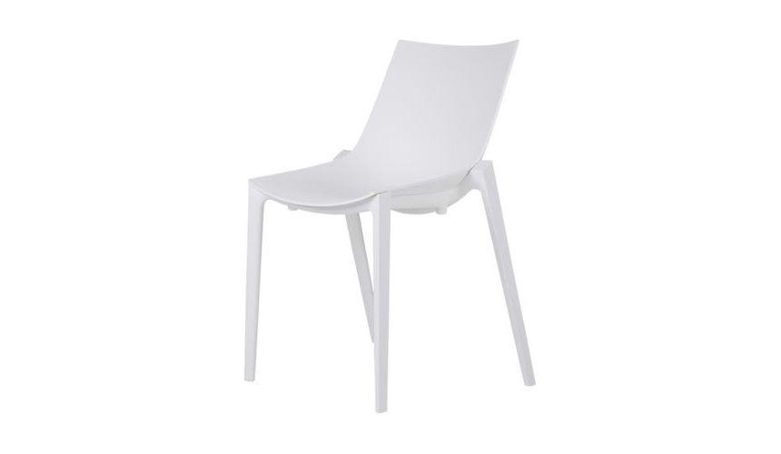 Zartan Chair - Set of 6 Basic, Matt White