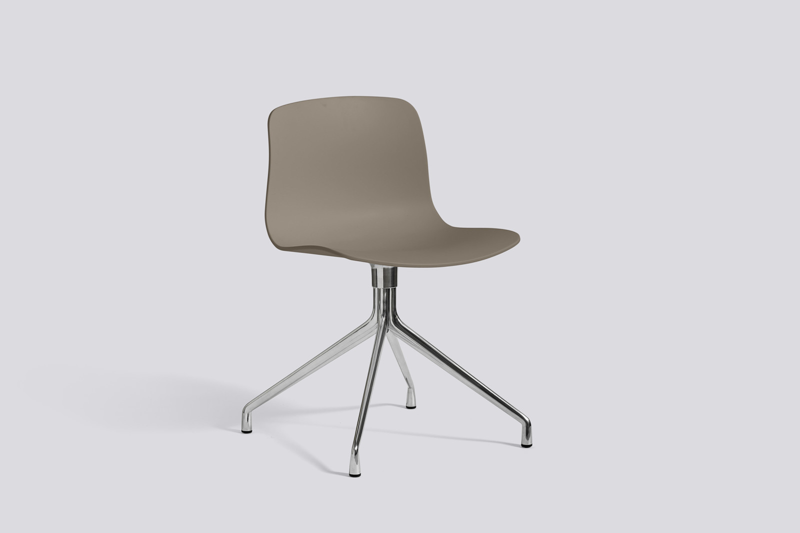 About A Chair AAC10 Khaki, Polished Aluminium