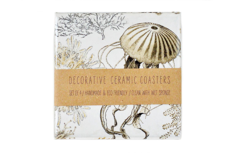 Vintage Sea Life Coasters
