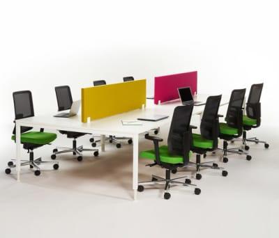 Alku eight seats by Martela Oyj