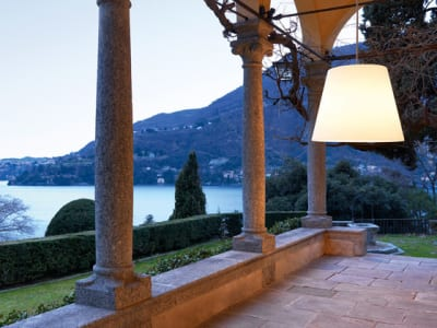 Amax Outdoor Suspension lamp by FontanaArte