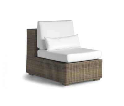 Aspen small middle seat by Manutti