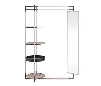 Bak valet stand mirror by Frag