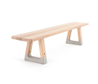Base bench by Arco