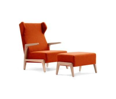 Boomerang Chill with pouf by Sancal
