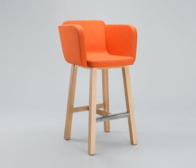 Club Bar Stool by Comforty