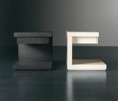 Cluny Night table with drawer by Meridiani