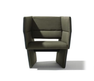 Cup armchair by Lampert