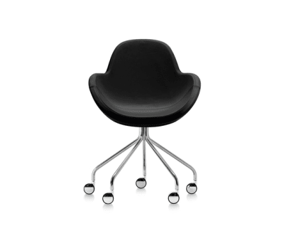 Darling 3 armchair with casters by Frag