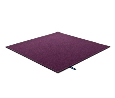 Fabric [Flat] Felt dirty lilac by kymo