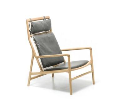 Fawn - dedo lounge chair dakar by Gazzda