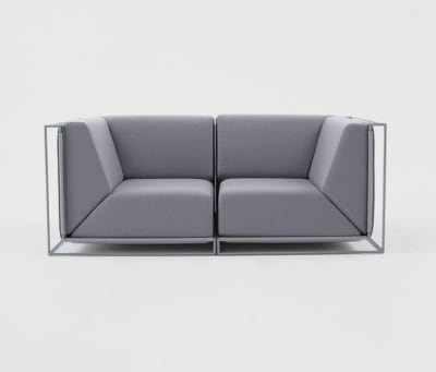 Floating Sofa by Comforty
