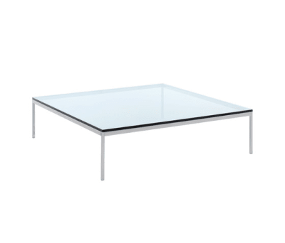 Florence Knoll Low Square Table - 120Wx120Dx35H 120Wx120Dx35H