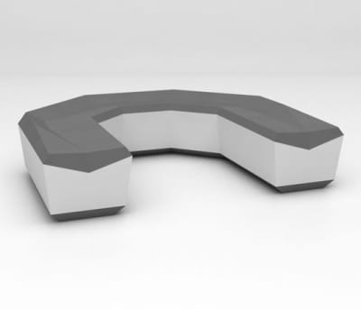 Fold Seat configuration 6 by isomi Ltd