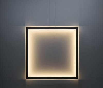 Framed suspension lamp square by Jacco Maris