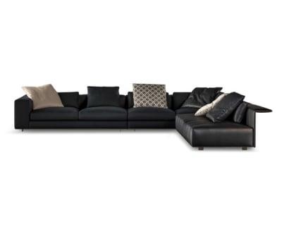 Freeman Duvet Sofa by Minotti