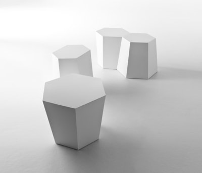 Hexagon sidetable by HORM.IT