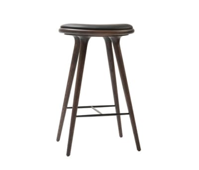 High Stool sirka grey stained oak 74 by Mater