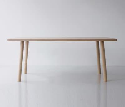 Hiroshima Table 180 High (Rectangular) by MARUNI