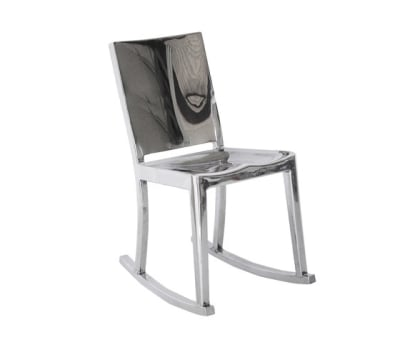 Hudson Rocking chair Hand-brushed