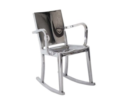 Hudson Rocking chair with arms Hand-brushed
