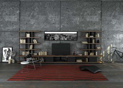 Karnaval Wall System & TV Unit by Koleksiyon Furniture