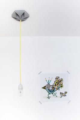 Kroonuppe Ceilingrose - Grey by Studio Snowpuppe