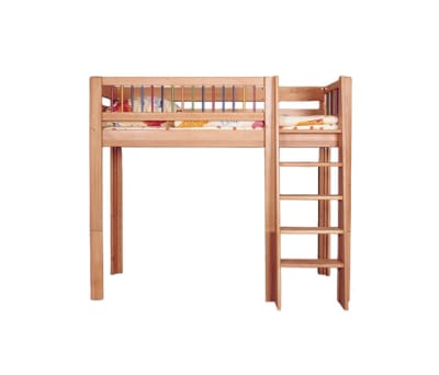Kubu mid high game bed DBA-207 by De Breuyn