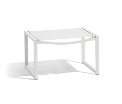 Latona medium footstool by Manutti