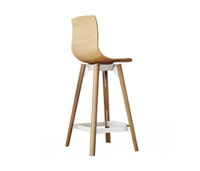 Loku High Bar Stool by Case Furniture