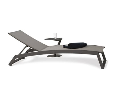 Long Beach Sun lounger aluminium adjustable by Rausch Classics