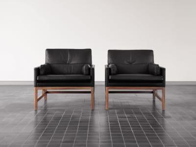 Low Back Lounge Chair by BassamFellows