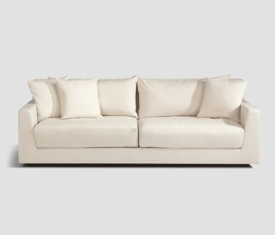 Metropolitan Club sofa 2-seater by Lambert