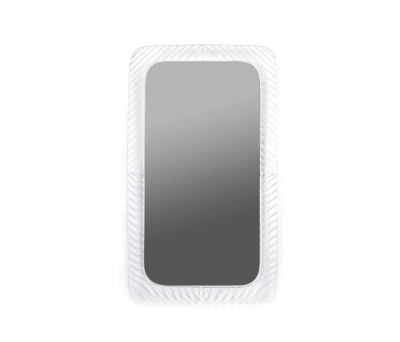 Mirror Rectangle white by Serax