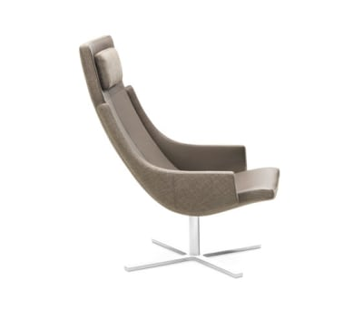 Model 1283 Link | High-Back Chair by Intertime