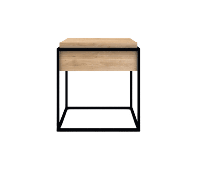 Monolit Side Table Small Black