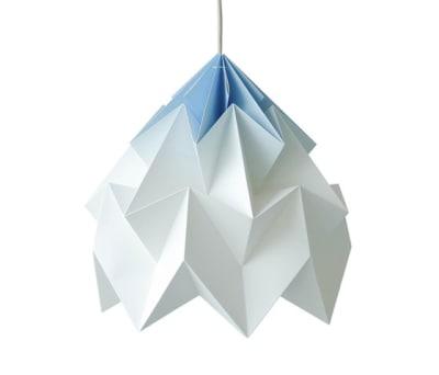 Moth XL Lamp - Gradient Blue by Studio Snowpuppe