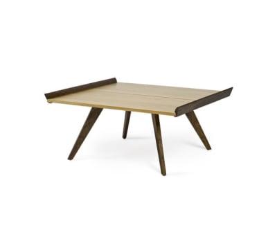 Nakashima Splay-Leg Table & Tray Hickory & American Walnut Top