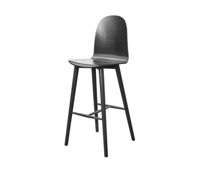 Nam Nam Wood Bar Stool by 8000C