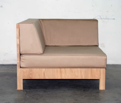 NF 98CT Seating element corner by editionformform