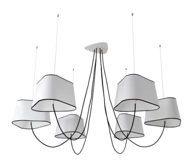 Nuage Chandelier 6 large by designheure