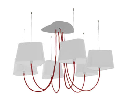 Nuage Chandelier 6 small by designheure