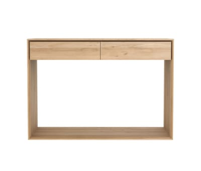 Oak Nordic console 120 x 40 x 80 cm