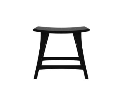 Oak Osso stool Blackstone