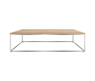 Oak Thin coffee table 120 x 70 x 30 cm