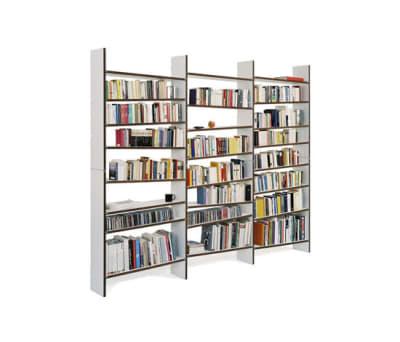 oblique book shelf by maude