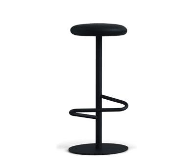 Odette Bar Stool 80 Black - Fabric Type D