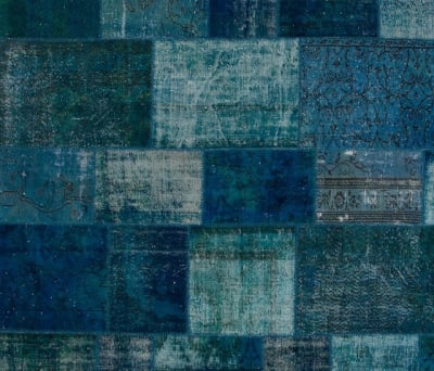 Patchwork blue by GOLRAN 1898